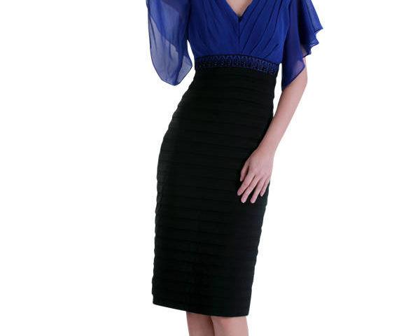 Miss Anne 211532 dress with Chiffon bodice WAS $159 NOW $99