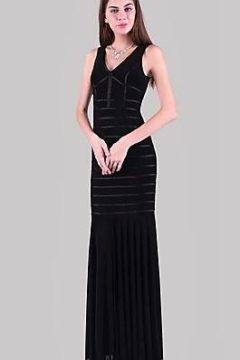 Miss Anne 214089 long dress $199