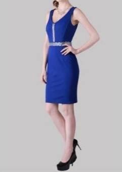 Miss Anne 214333 short Cobalt Blue Dress Size 10 WAS $159 NOW $99