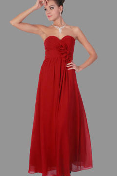Miss Anne 21485 long strapless dress $170