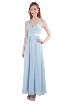 Miss Anne 216275 Long dress with lace bodice sizes 8 – 26 from $230