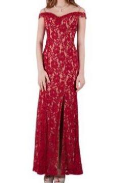 Miss Anne 216328 Long Lace off the shoulder dress $195