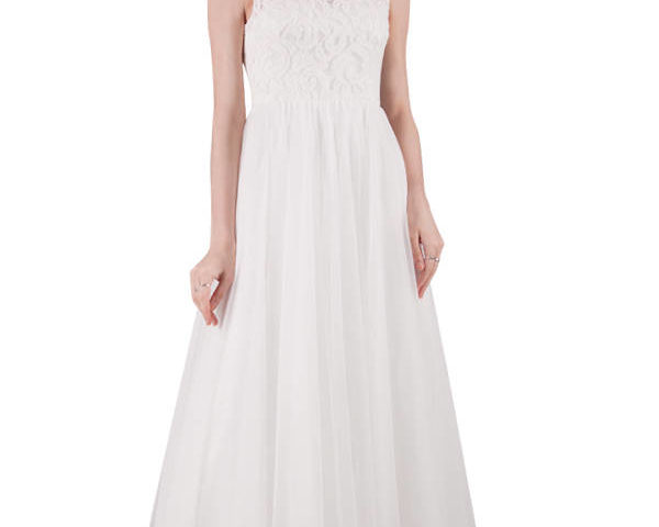 Miss Anne 217209 White Tulle Bridal gown / Wedding Dress / Debutante with lace bodice $350