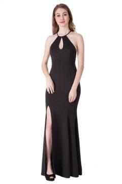 Miss Anne 217402 long dress $195