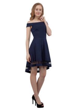 Miss Anne 217617  Off shoulder dress $140