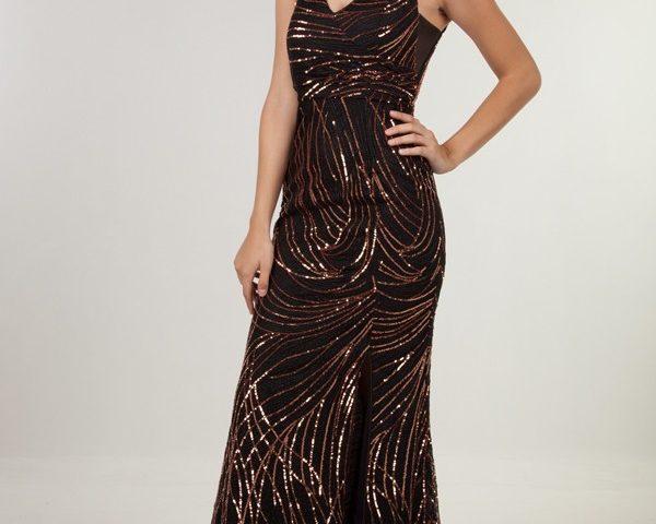 Miss Anne 219444 Sequin Evening Formal Dress