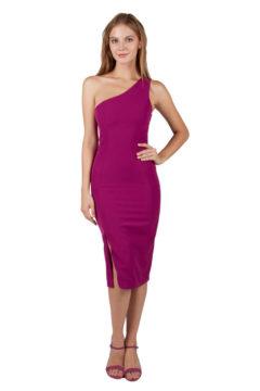 Miss Anne 219500 One shoulder cocktail dress $99