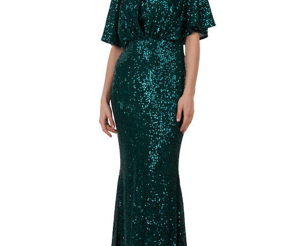 Miss Anne 219526 Neptune Evening Gown Formal Dress $250