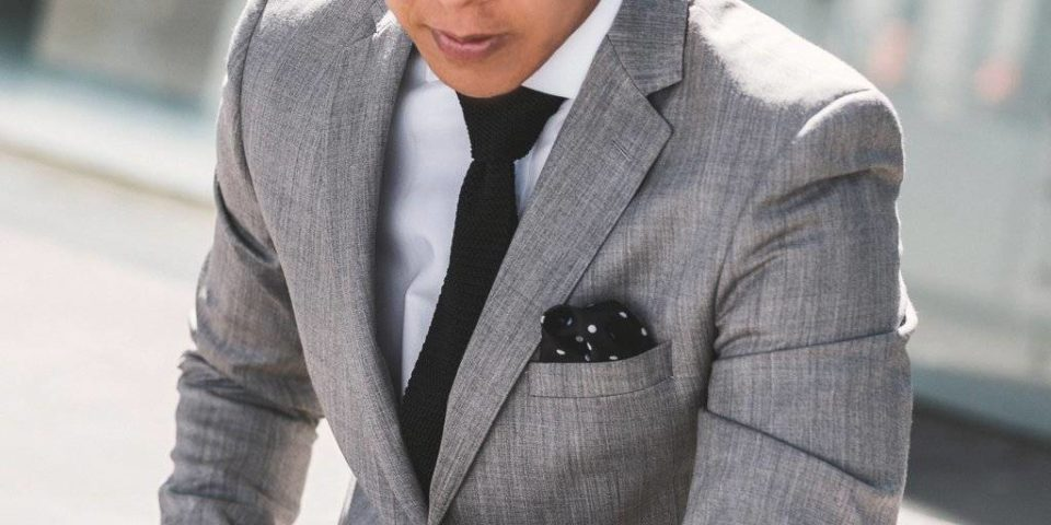 Aston A022804S Grey Suit 100% pure wool $450