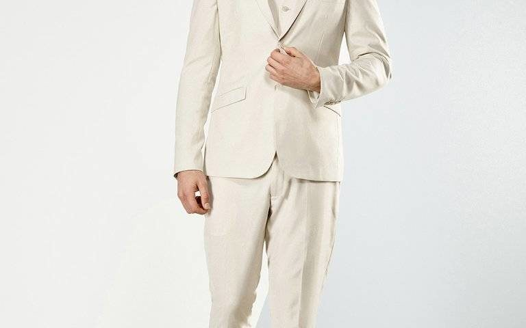Aston A099301 Beige suit WAS $329 NOW $250 limited stock