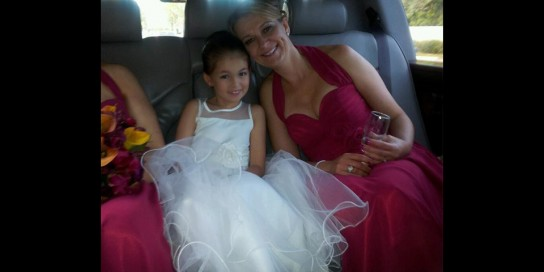 Bridesmaid and Flowergirl