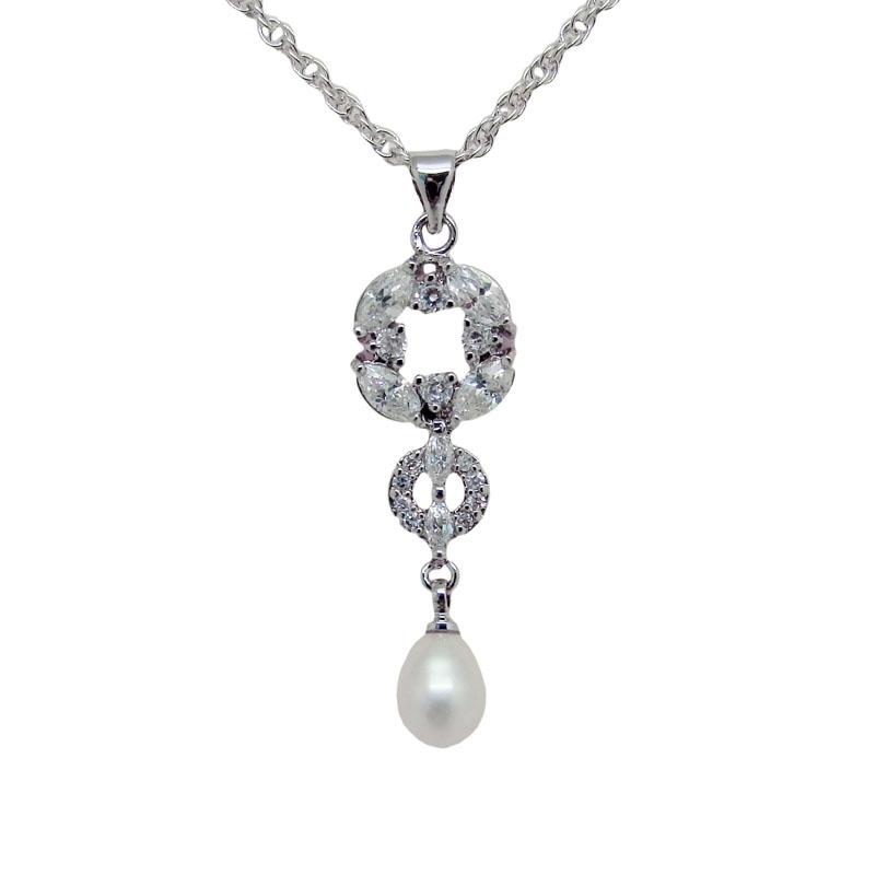 Chrysalini CCN016 necklace & Earring set $50