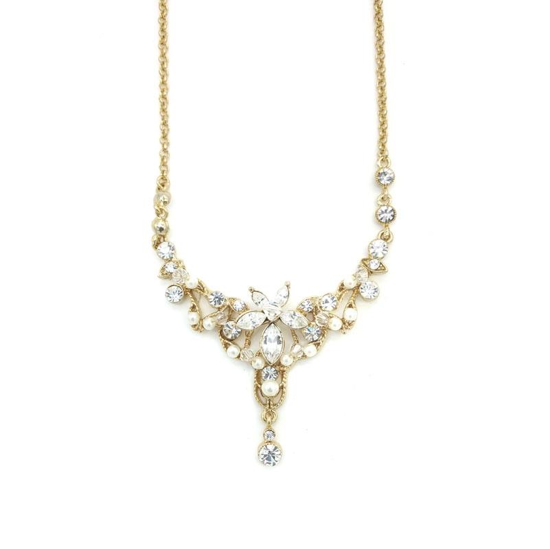 Chrysalini CF3986 diamonte Crystal necklace $47