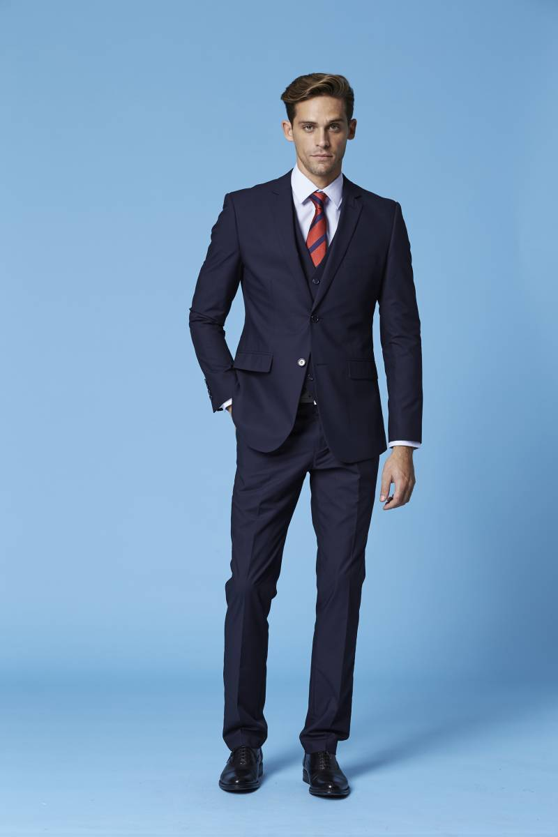 Deniro 92432 blue suit