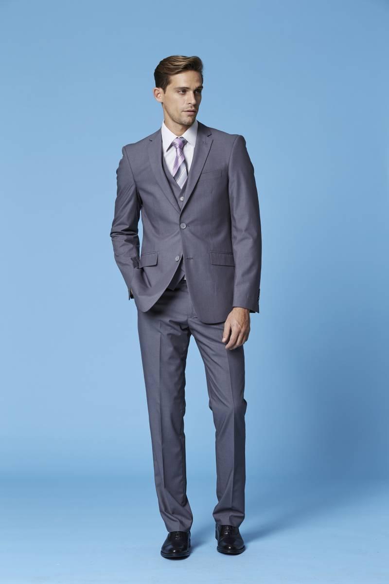 Deniro grey suit