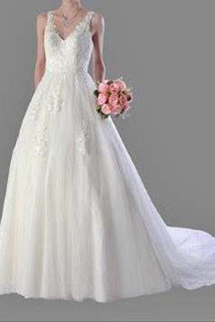 Anissa 913062 Lace Bridal Gown / Wedding Dress size 10 WAS $1100 NOW $700