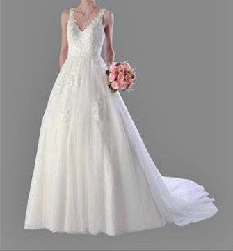 Anissa 913062 Lace Bridal Gown / Wedding Dress size 10 WAS $1100 NOW $500