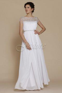 Jadore J2031 White Bridal Gown / Debutante dresses size 8 WAS $520 NOW $400