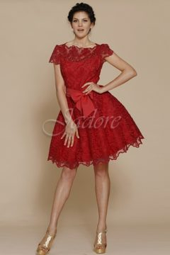 Jadore J2041 Short Red Dress size 8 WAS $249 NOW $99