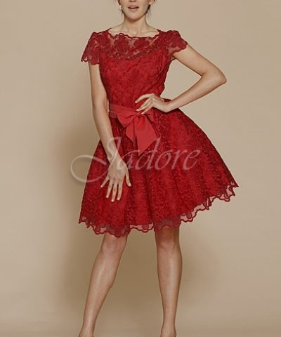 Jadore J2041 Short Red Dress size 8 WAS $249 NOW $199