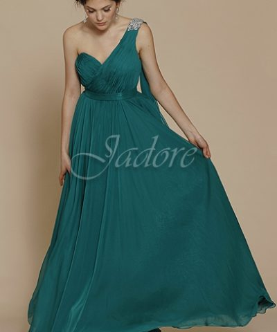 Jadore J2042 Long Gown dresses Emerald Green size 12 WAS $389 NOW $289