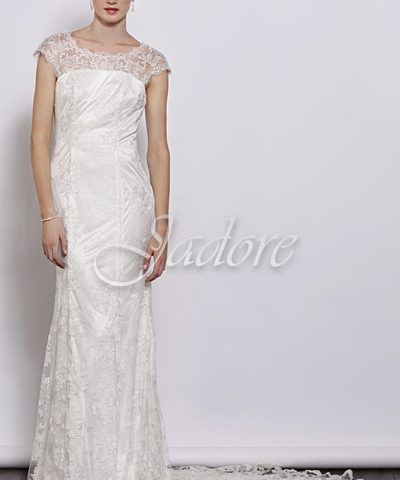 Jadore J3034 Ivory Bridal Gown Size 10 WAS $660 NOW $560