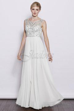 Jadore J3035 Jadore White Bridal Gowns / Wedding dresses Size 10 WAS $599 NOW $400