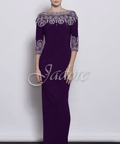 Jadore J3052 bejewelled gown Size 10 WAS $605  now only $300