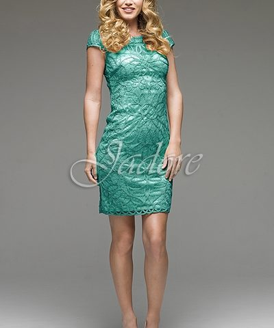 Jadore J4025 cocktail dress Jade green Size 12 WAS $399 now $150