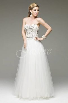 Jadore J4034 Bridal Gown / Wedding dresses Antique jewelled bodice size 12 to 14 WAS $500 NOW $400