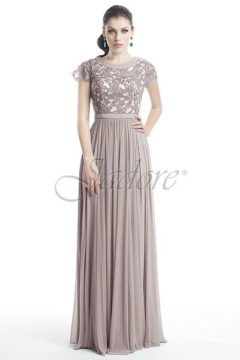 Jadore J5071 Long gown / Formal dresses with lace bodice colour Vintage Size 10 WAS $280 NOW 199