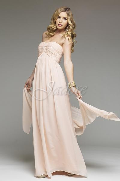 JSD041 strapless bridesmaid dress