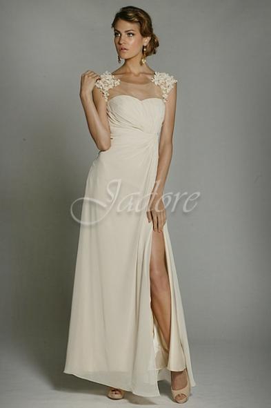 Jadore cream gown
