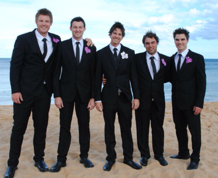 Joe's wedding boys