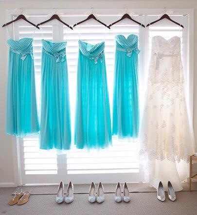 Kylie dresses on hangers