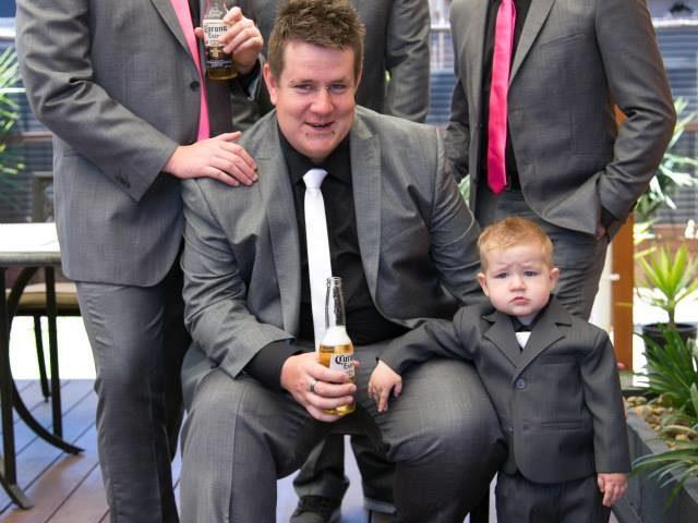 Lucas's wedding in Melbourne