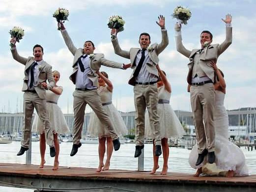 Maddie's boys jumping