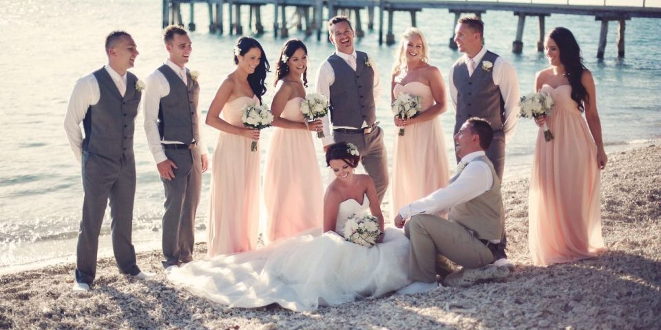 Maddison's wedding on Daydream Island
