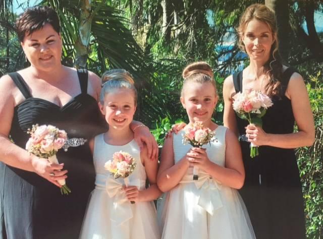 Michaela King wedding