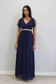 Miss Anne 214473 Claire long chiffon Ball gown / Formal Dress $230 – Plus size POA