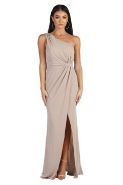 Miss Anne 219495 long one shoulder formal dress $149