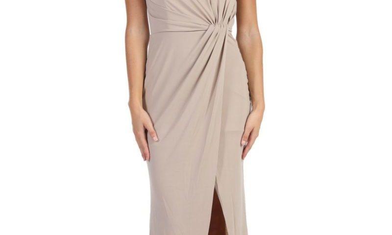 Miss Anne 219495 long one shoulder formal dress $149