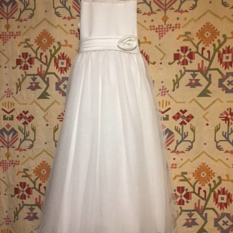 OGGT892W Flowerfirl, Communion , Confirmation dress WAS $120.00 NOW $70