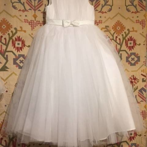 OGGT930W Flowergirl or Communion / Confirmation Dress WAS $150.00 NOW $80