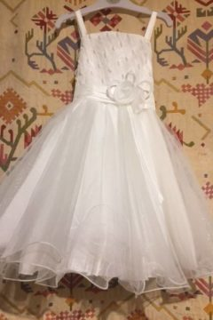 T931 Flower Girl Dress WAS $99 NOW $50