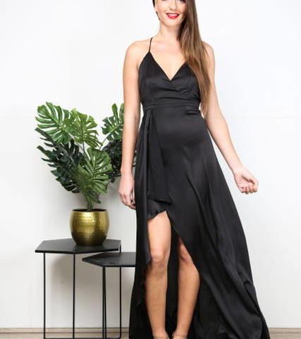 PF9797 Satin formal Dress  was $99 NOW $50
