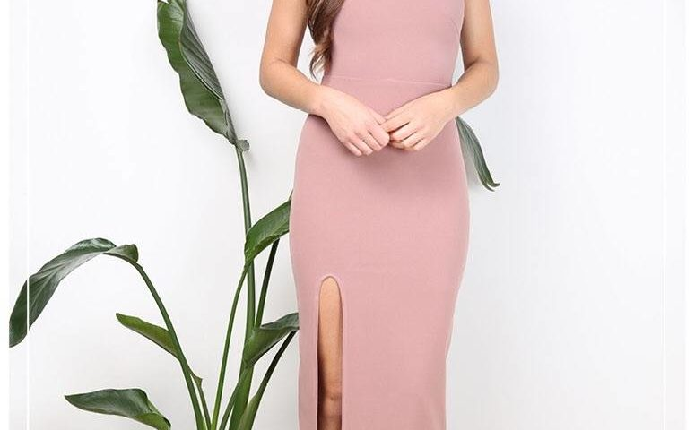 Passion Fusion 9855 long dress with choker was $99 NOW $69