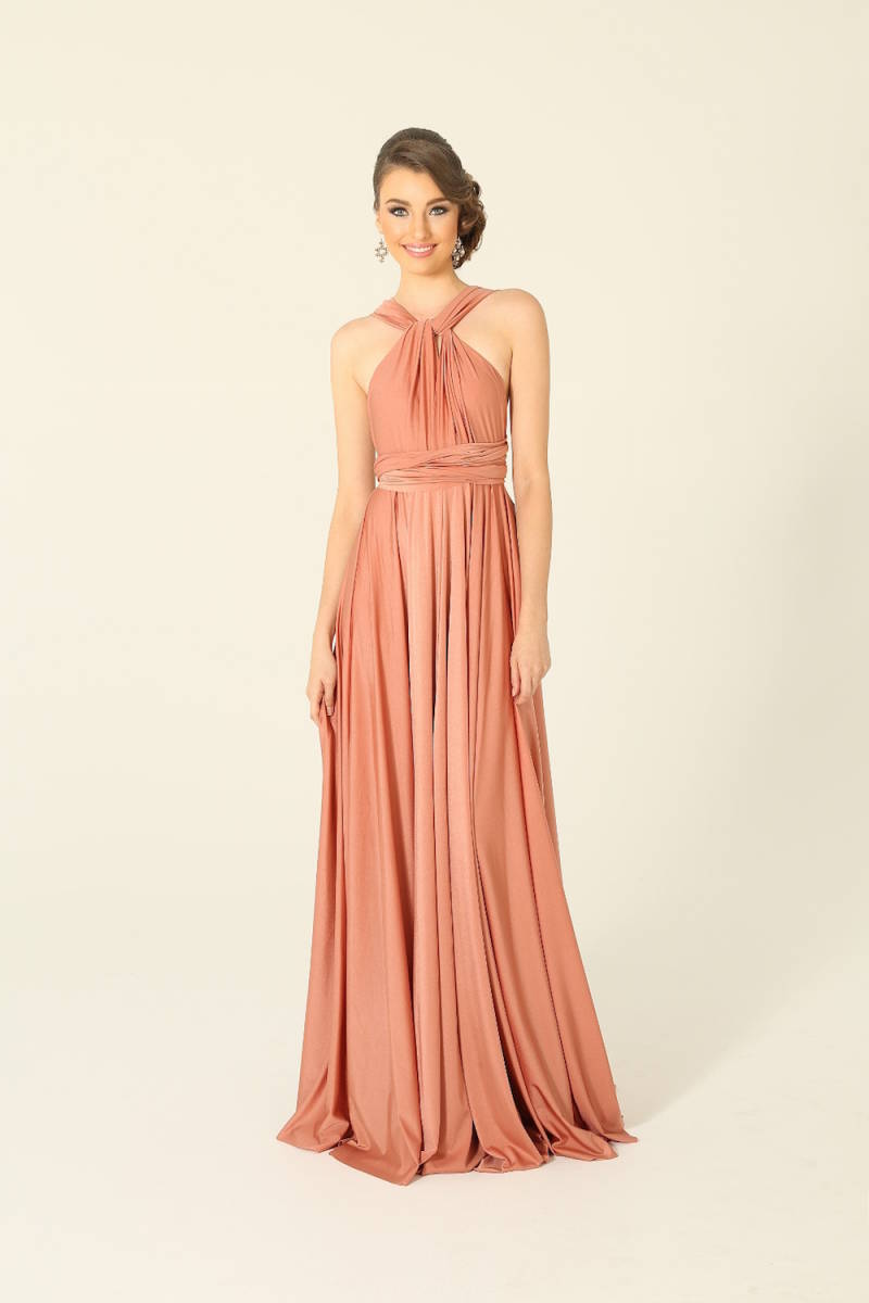 PO31-WrapDress-Coral-Front