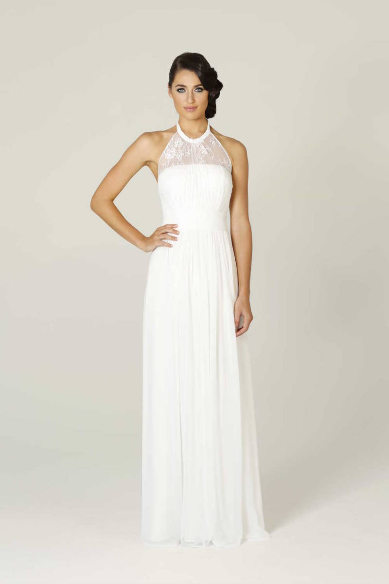 Poseur PO33 Long Lace Bridal Gown or Debutante dresses $299