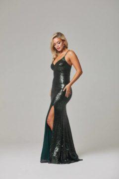 Tania Olsen PO594 India Sequin Long gown $360